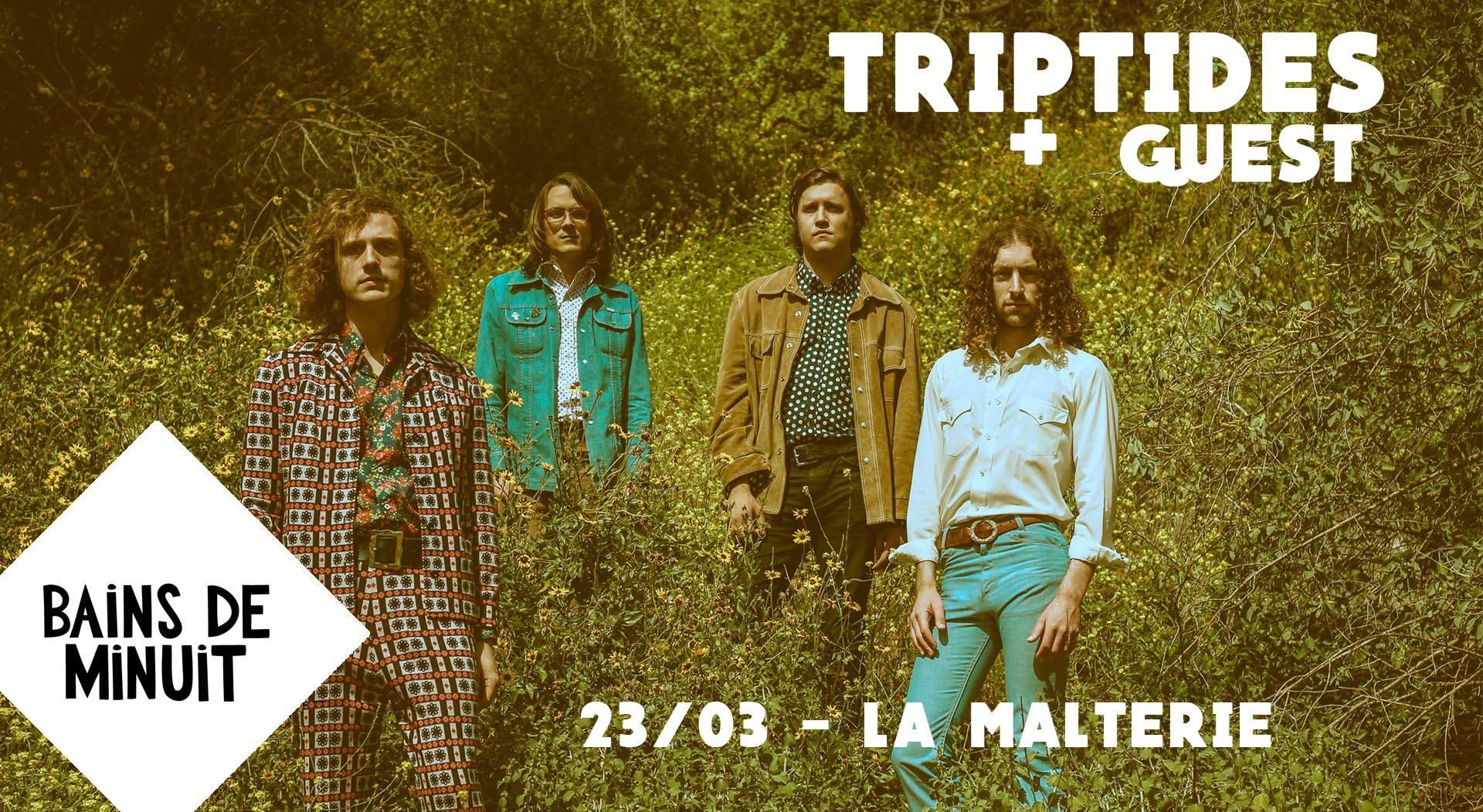 23/03 – TRIPTIDES (usa) + Flat Screen Radio (lille) / La Malterie, Lille
