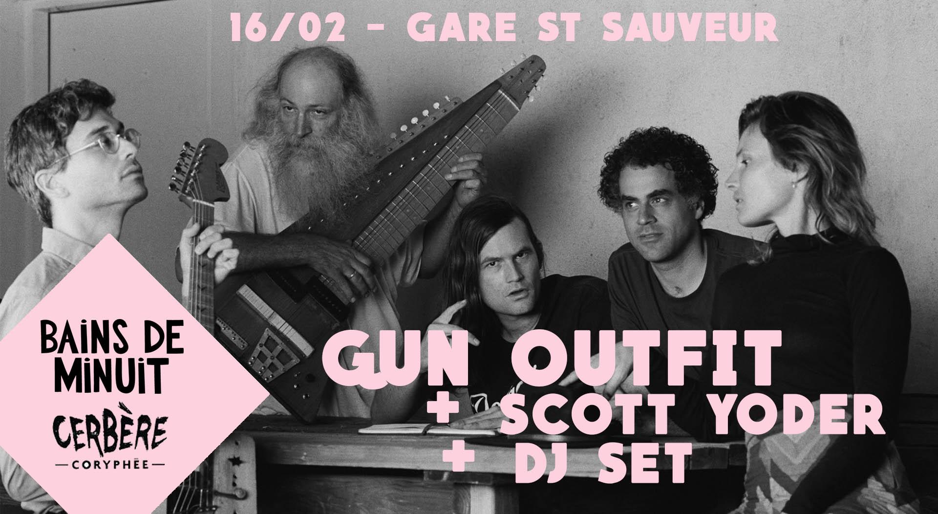 16/02 – GUN OUTFIT (us) + Scott Yoder (us) + Dj / La Gare Saint Sauveur, Lille