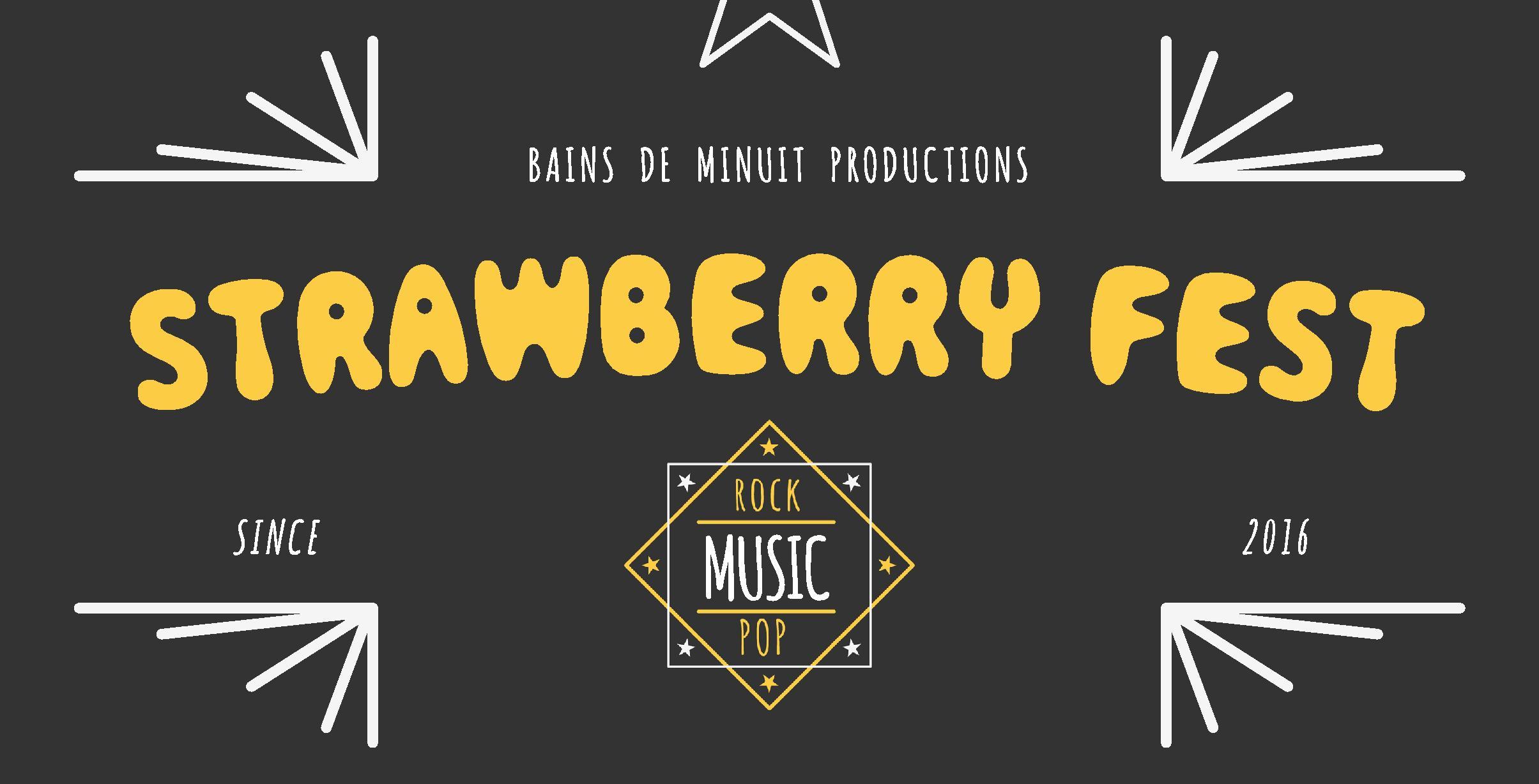 08/09 – Strawberry Fest #3 // Holy Wave, Ulrika Spacek, Wild Raccoon, Sir Keith dj set and more ! / La Ferme d'en Haut, Villeneuve d'Ascq
