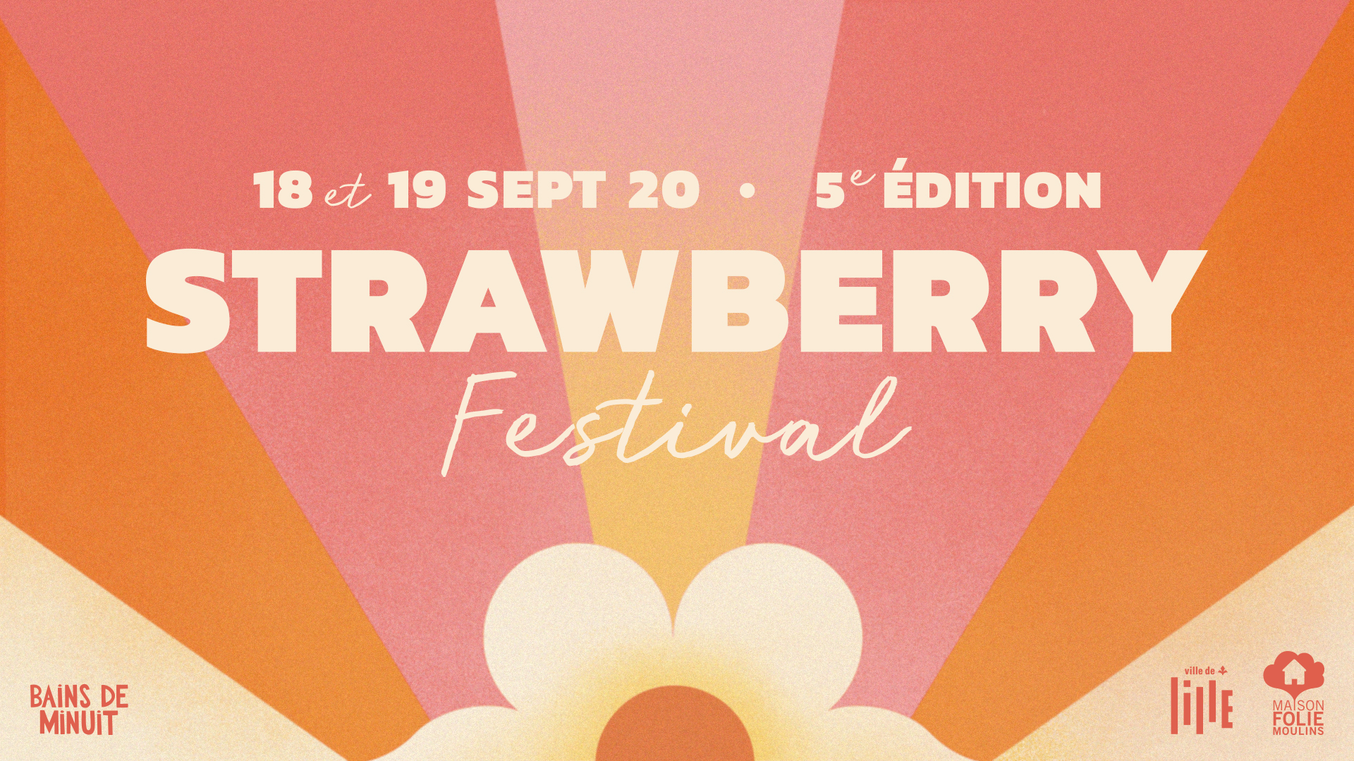 18-19 sept. 20 – STRAWBERRY FEST #5 / Maison Folie Moulins, Lille